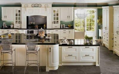 Design av et stort kjøkken - 50 fotointeriører