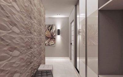 Conception du couloir - Options de finition et de photo