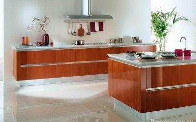 Conception de cuisine sans armoires supérieures - idées de rangement, photos intérieures