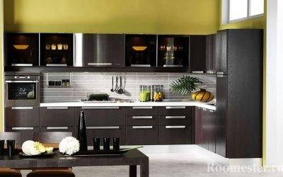 Cucina color wengè - design e 25 foto