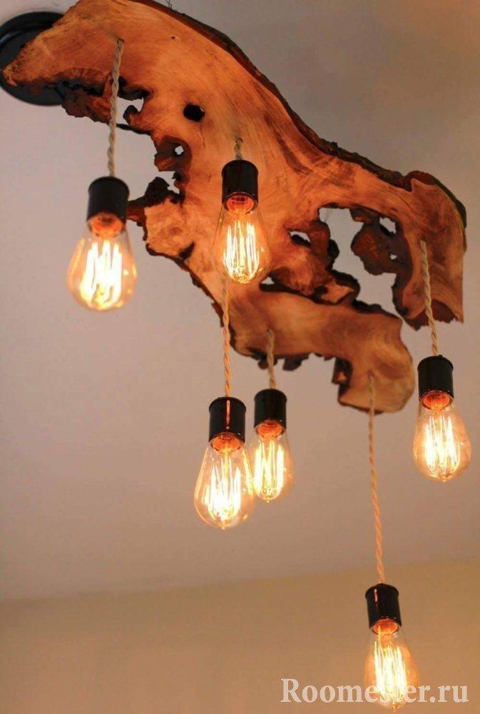 Driftwood lysekrone