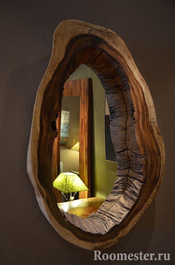 Innrammet speil