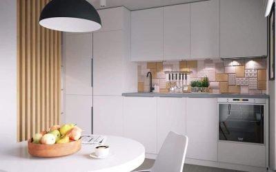 Kjøkkendesign 10 kvm - 30 bilder av interiørideer