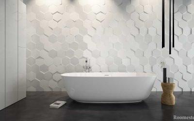 Conception de carreaux de salle de bain - 50 exemples modernes