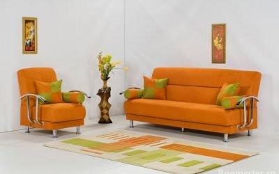 Oransje farge i interiøret - kombinasjoner og designalternativer