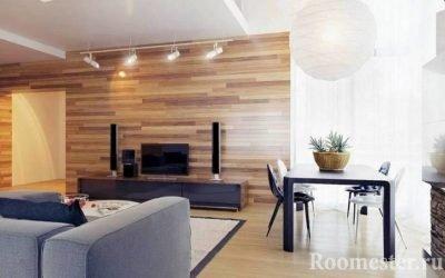 Laminering på veggen i interiøret - en kreativ løsning