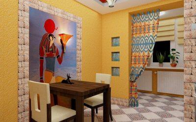 Design mural dans la cuisine +85 idées photo