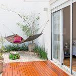 Hengekøye på balkongen