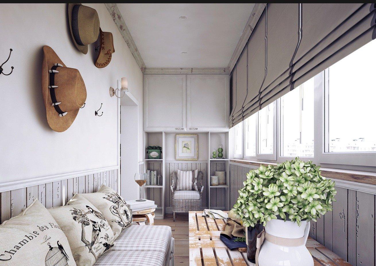 Provence-balkong