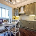 Kjøkken med elegant interiør