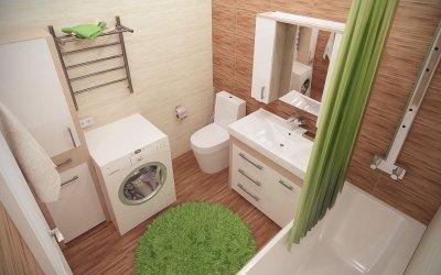 Design salle de bain 5 m² - aménagement et intérieur