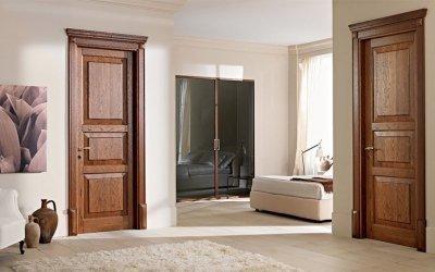Portes intérieures à l'intérieur - types, matériaux, couleurs