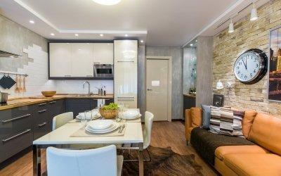 Kjøkkendesign 16 kvm + 60 bilder av interiøreksempler