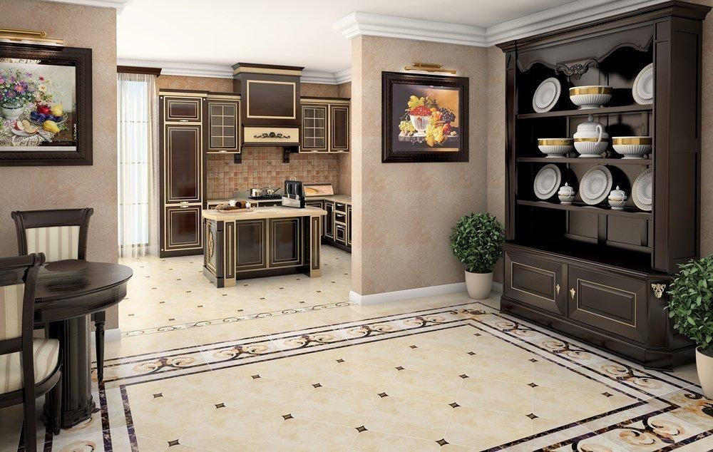 Cuisine et salle à manger de style classique