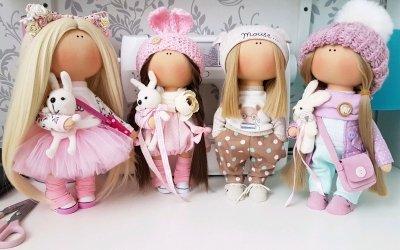 9 types de fabrication de poupées d'intérieur de vos propres mains