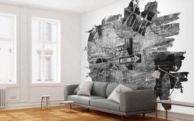 Bilder på veggene i interiøret +75 bilder