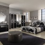 Design luxos de mobilier închis