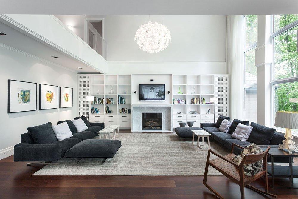 Living spațios într-o casă privată