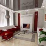Stretch ceiling decor