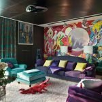 Creative living room decor
