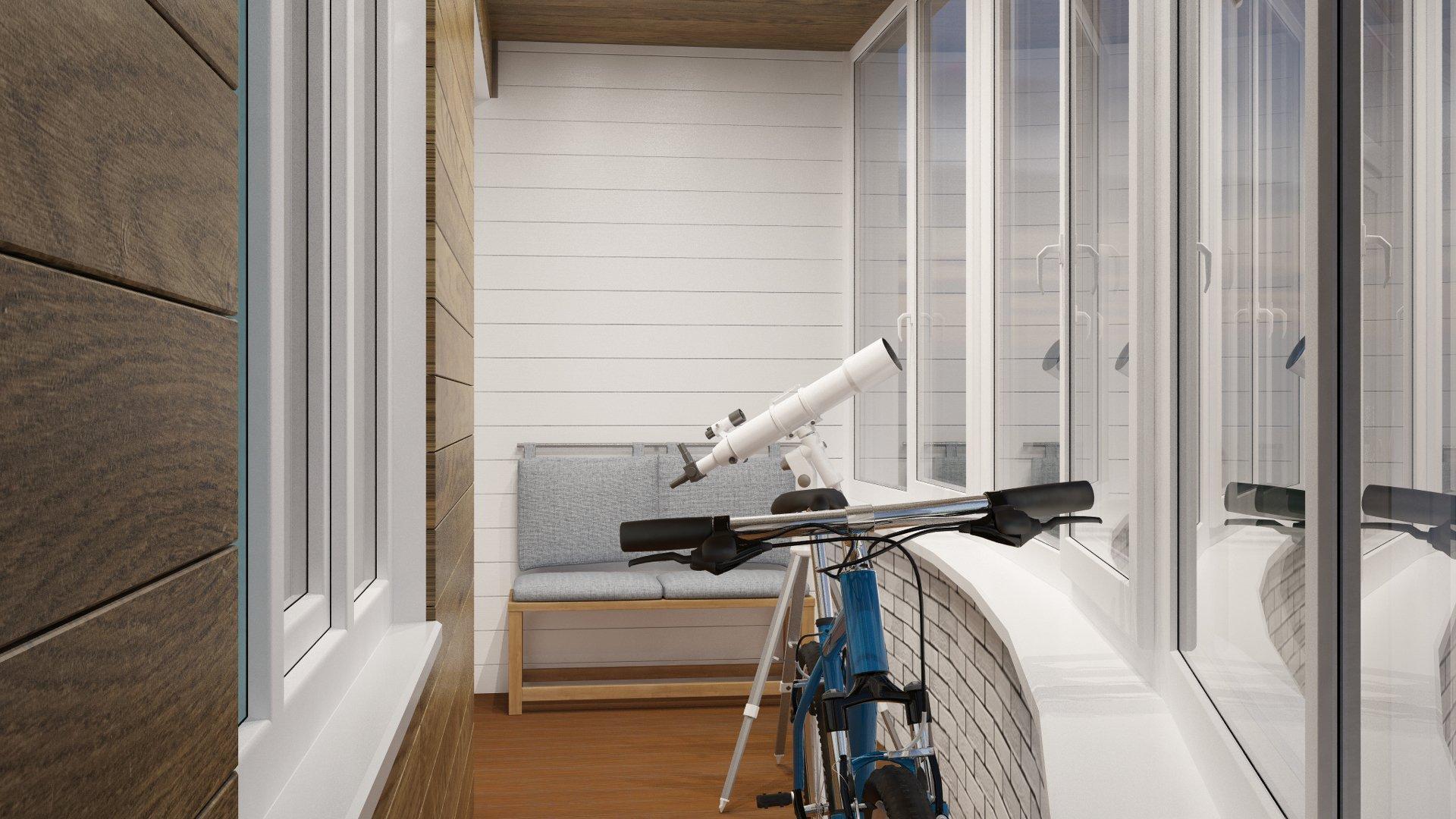 Teleskop ved vinduet