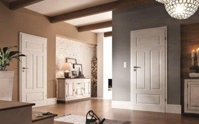 Portes intérieures lumineuses à l'intérieur +75 photos