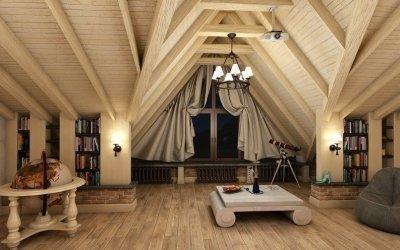 Loftdesign +75 bilder av å ordne et rom i et privat hus