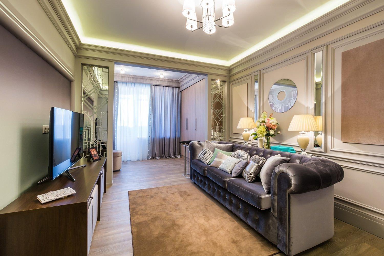 Luksuriøs stuedesign