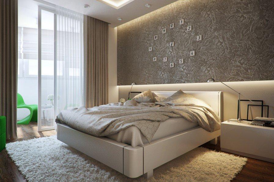 Moderne soverom i leiligheten