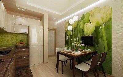 Kjøkkendesign i en moderne leilighet +75 bilder