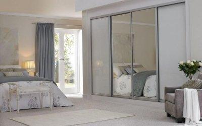 Garderobe på soverommet: økonomiske og romslige +75 bilder
