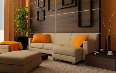Colore wengè in un interno moderno e classico