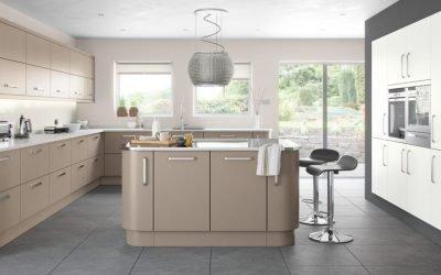Culoare Cappuccino în interiorul bucătăriei +75 de fotografii cu exemple de design