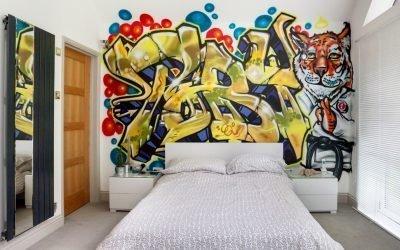 Types et méthodes de peinture des murs à l'intérieur +75 photos