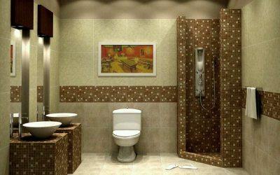 Options pour la pose de carreaux dans la salle de bain