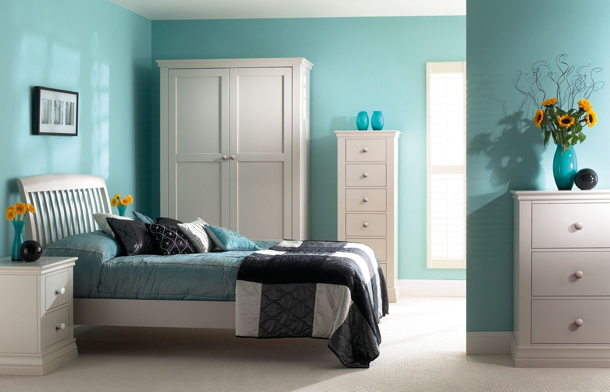 The Color Of The Sea Wave In The Interior 75 Photos Of Design Ideas