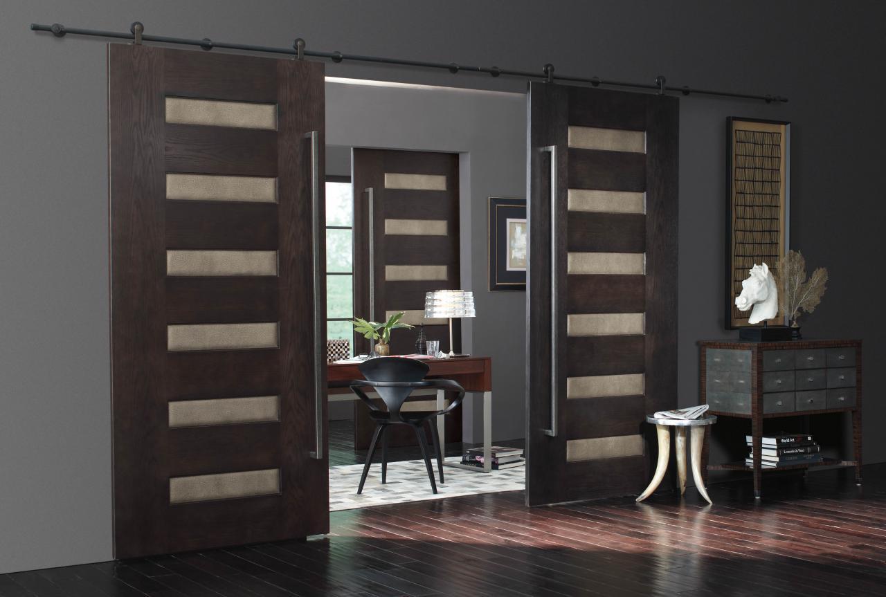 Porte interne scorrevoli all'interno dell'appartamento