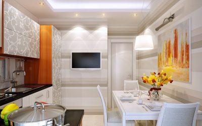 TV di dapur: bagaimana untuk memilih dan ke mana tempatnya