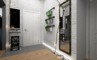 Couloir de style loft