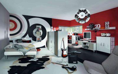 Idées de design et d'intérieur pour une chambre de jeunes