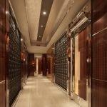 Plafond en placoplâtre avec motifs