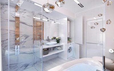 Salle de bain high-tech: caractéristiques de conception