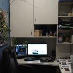 Skap over skrivebord