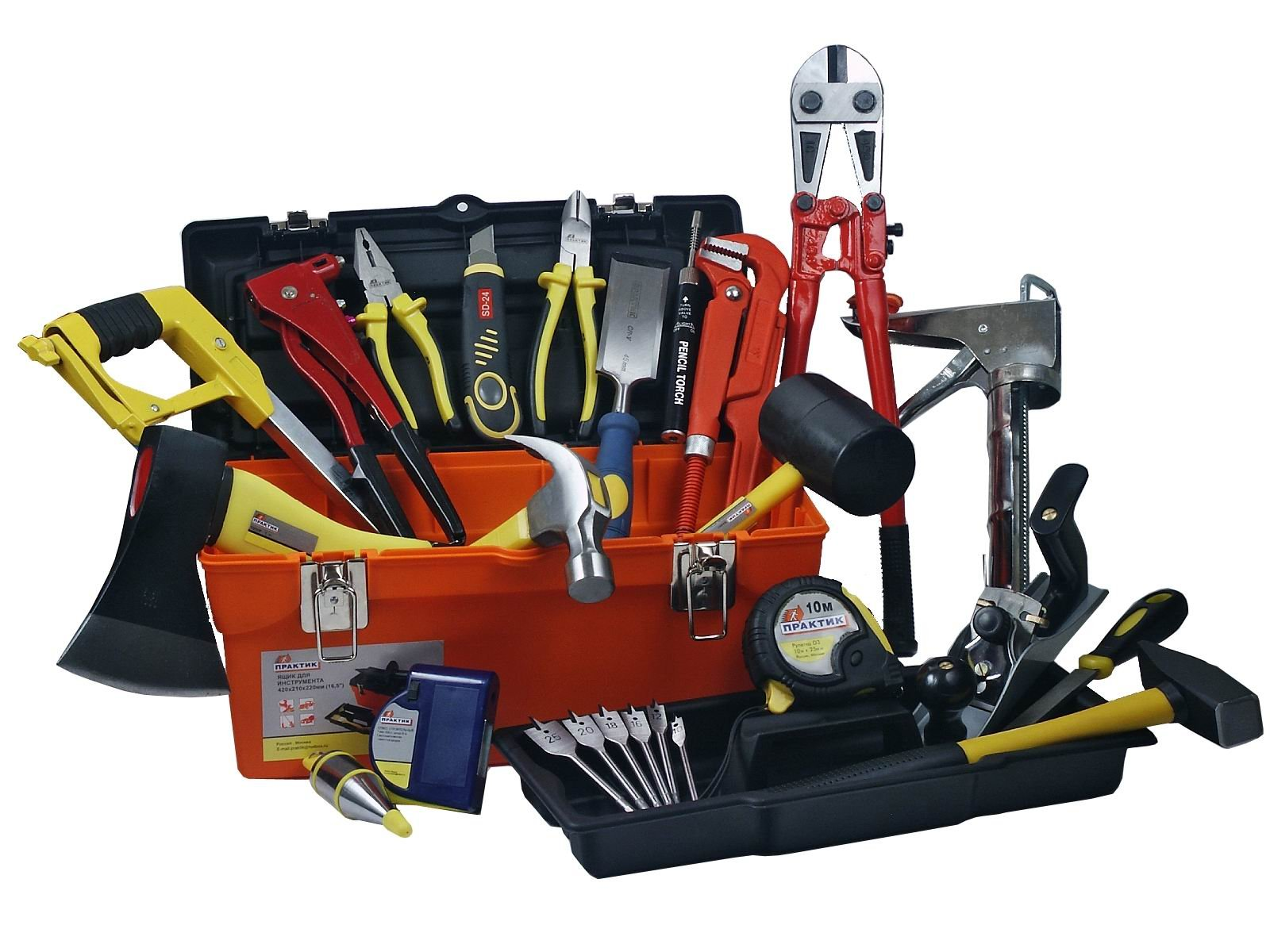 Nødvendige materialer og verktøy
