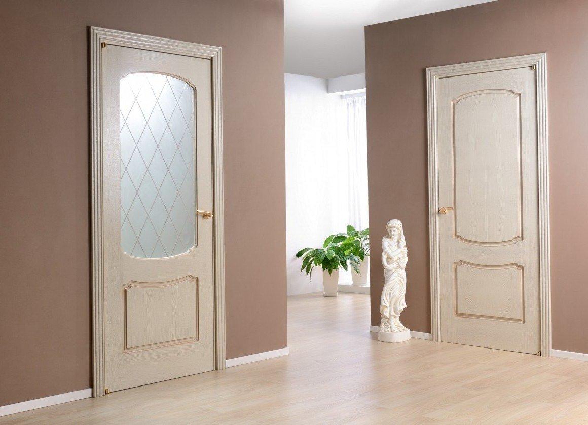 Intérieur avec portes lumineuses