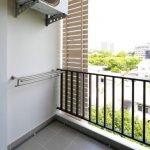 Kompakt balkong tørketrommel