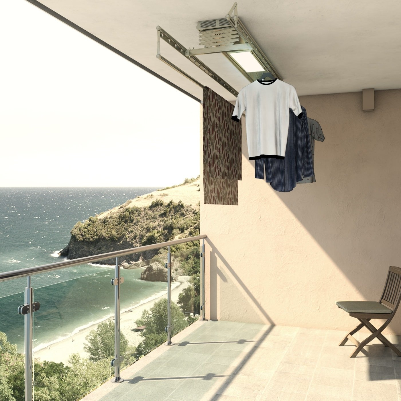 Kriterier for valg av tørketrommel til balkong