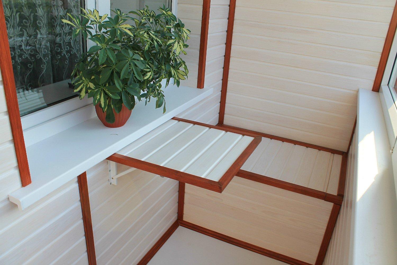 PVC balkong trim