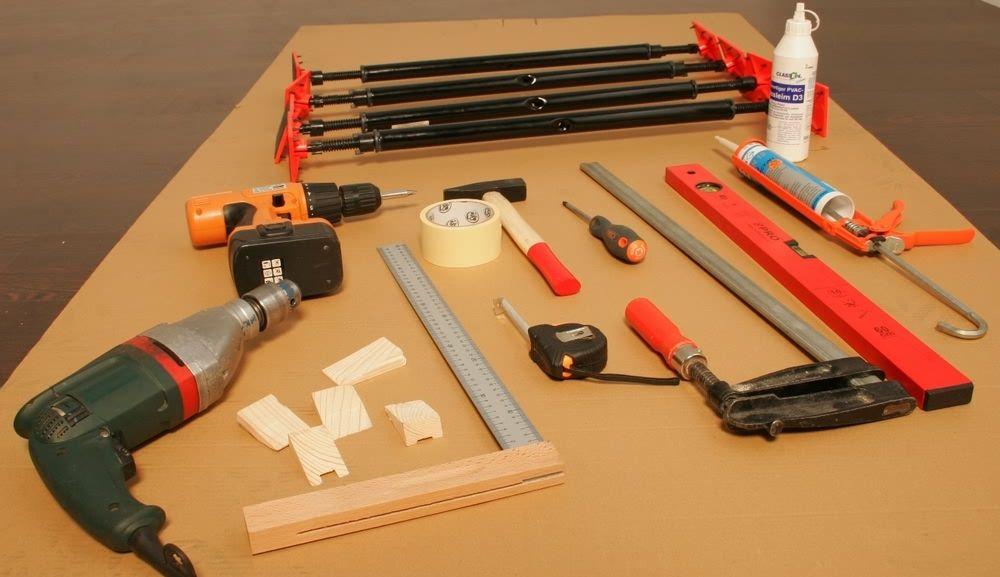 Materialer og verktøy