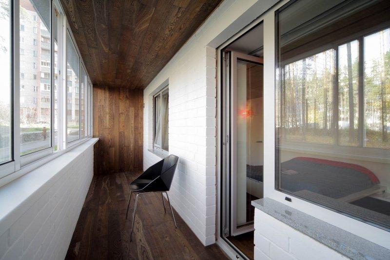 Loft stil balkong